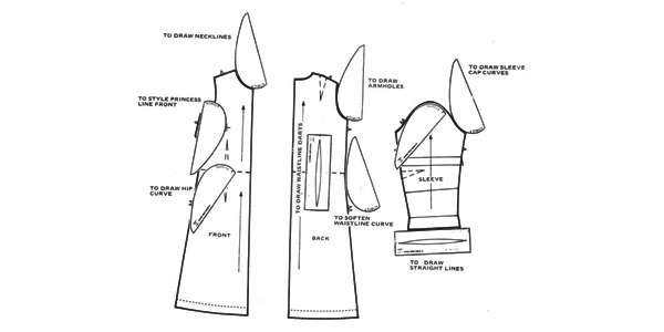 new apparel development - pattern making and grading